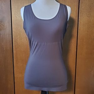 SPANX BLACK TANK TOP SHAPEWEAR SZ LARGE